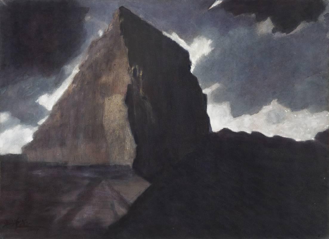 吳增榮 《大霸尖山》  1995 水彩、紙 108.9 x 78.8 cm