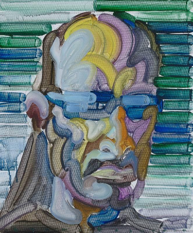Etsu Egami 江上越|藝術家-S Artist-S|72,7 × 60,6cm|油彩畫布 Oil on canvas|2020