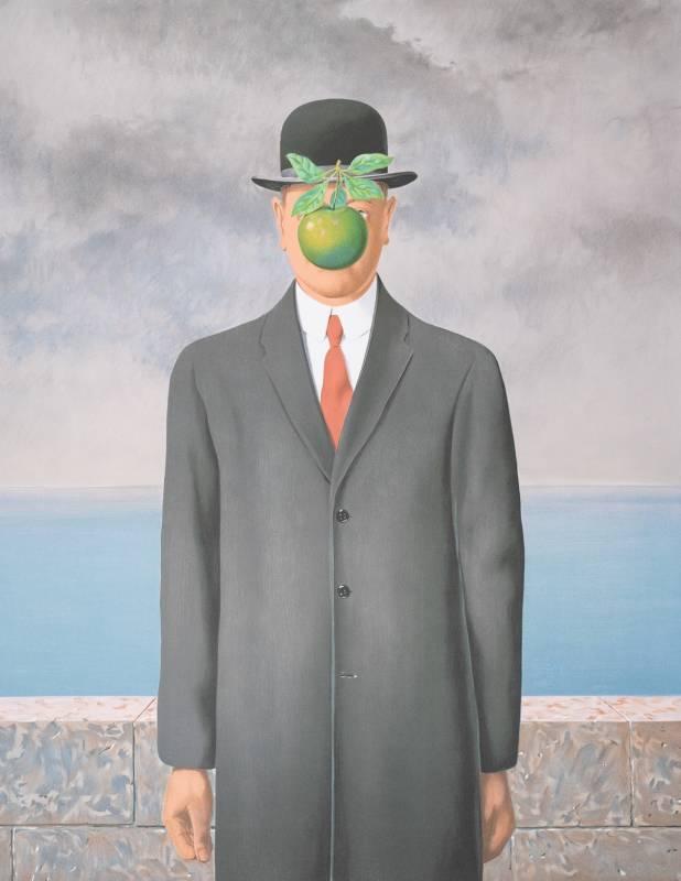 Gallerydesol_rene magritte_Le fils de l'homme
