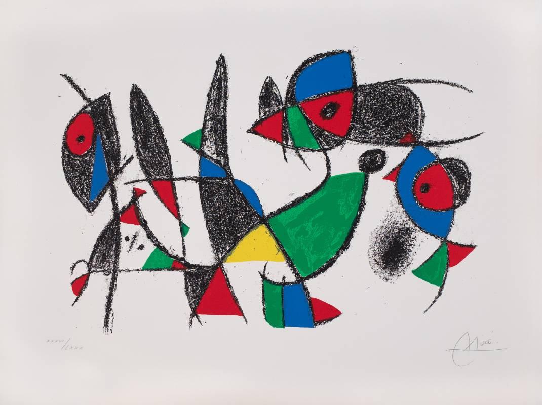 Gallerydesol_Joan Miro_Miro Lithographs II