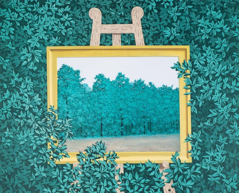 Gallerydesol_rene magritte_La cascade