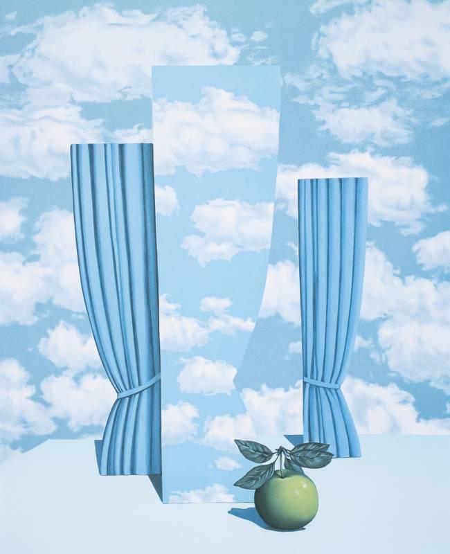 Gallerydesol_rene magritte_Le beau monde