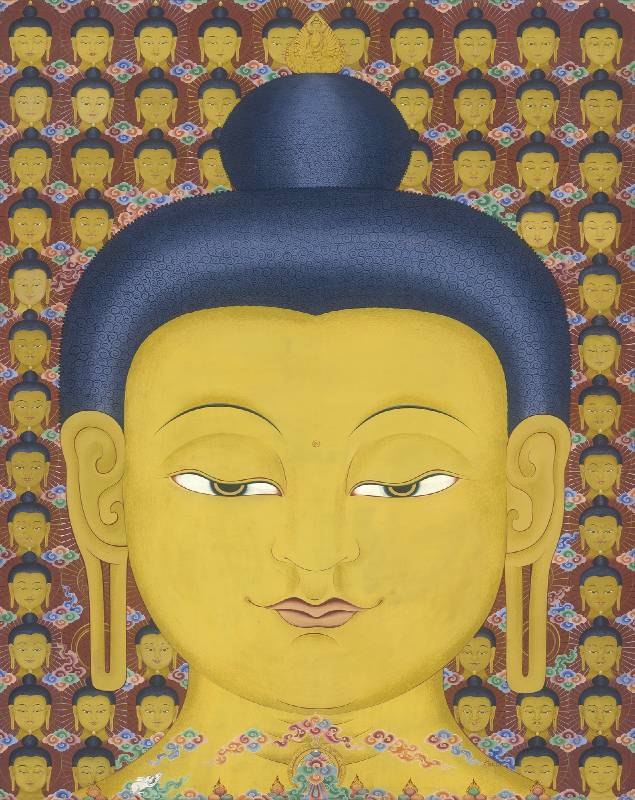 Buddha_Natural color on Canvas_170x135cm_2015