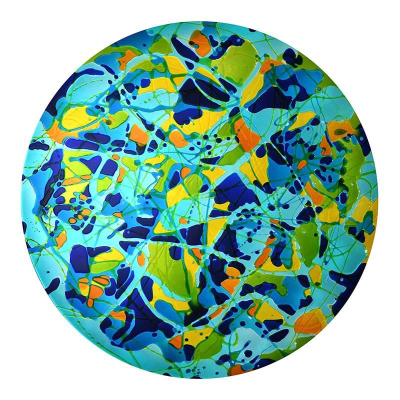 賴純純_閃亮的愛 宇宙系-無垠宇宙_鏡版複合媒材_120x120 cm_2020.JPG