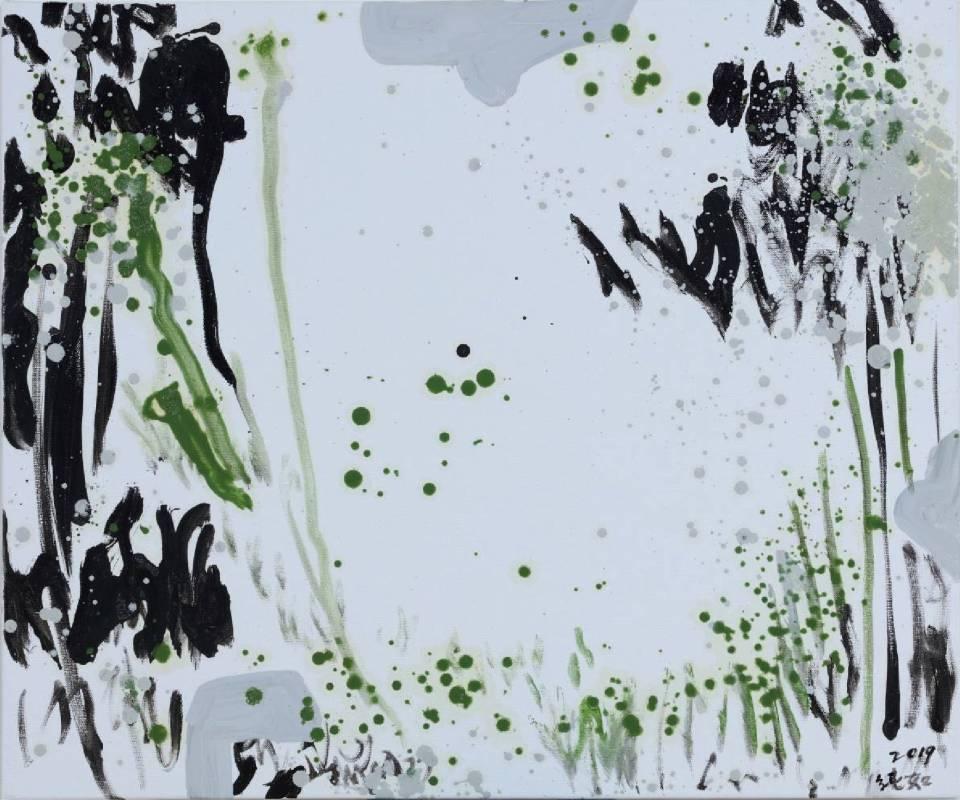 林純如-野草系列004 。圖/双方藝廊提供