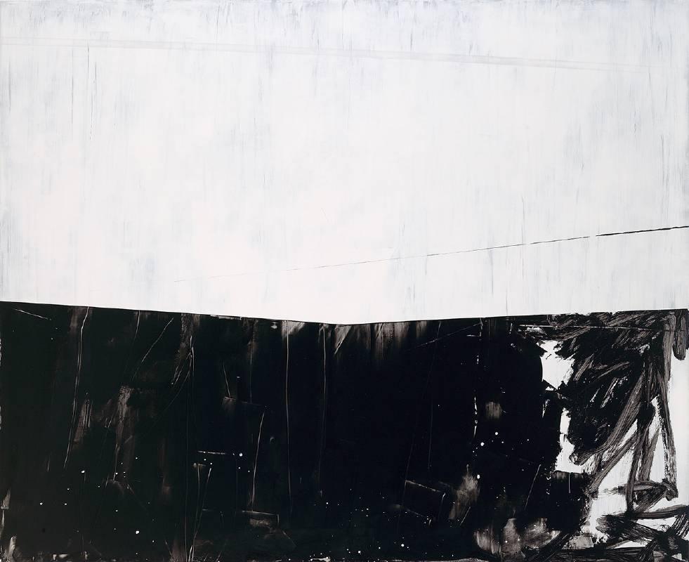 邱掇 -  2012 〈白日夢行 2〉 壓克力、畫布 160 x 130 cm 2012。圖/双方藝廊提供