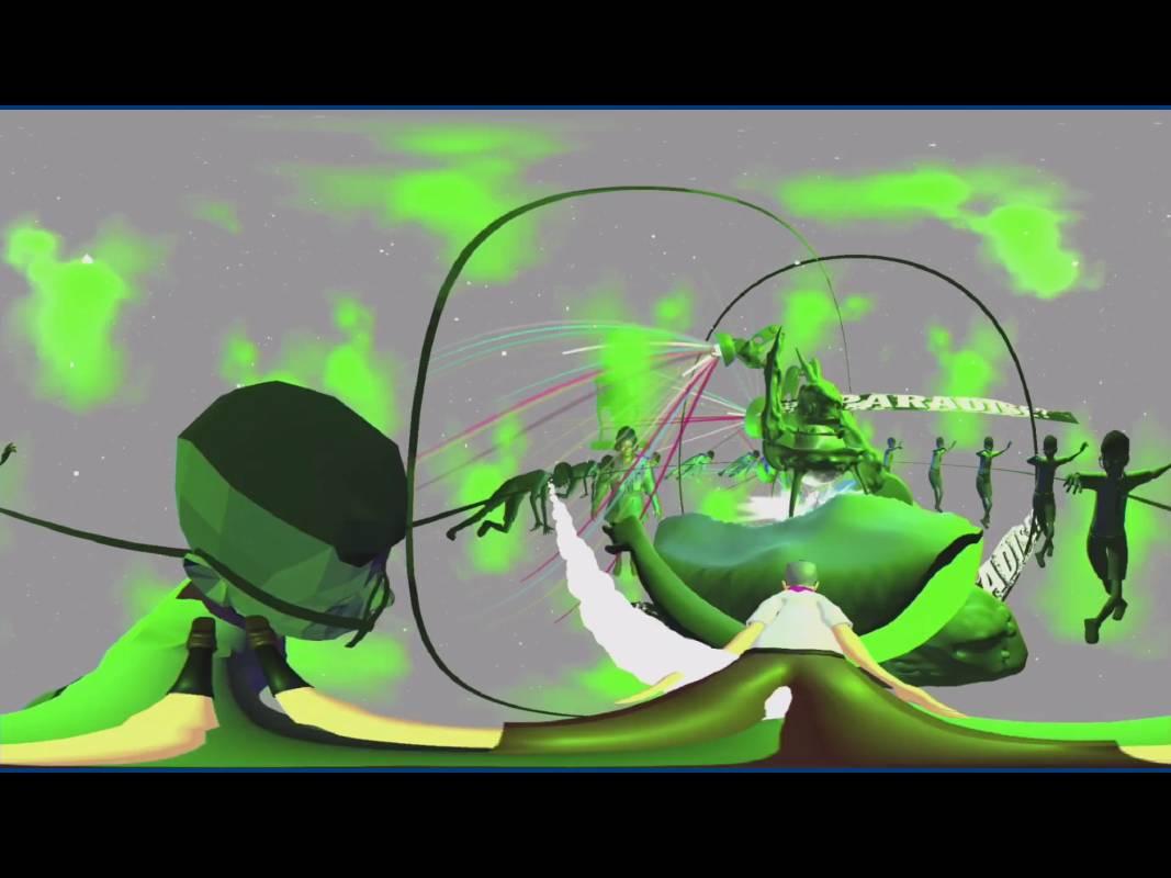 Chulayarnnon Siriphol,《天堂 Paradise》,2020,虛擬實境 360° virtual space,尺寸依場地而定dimension variable。圖/台北數位藝術中心提供