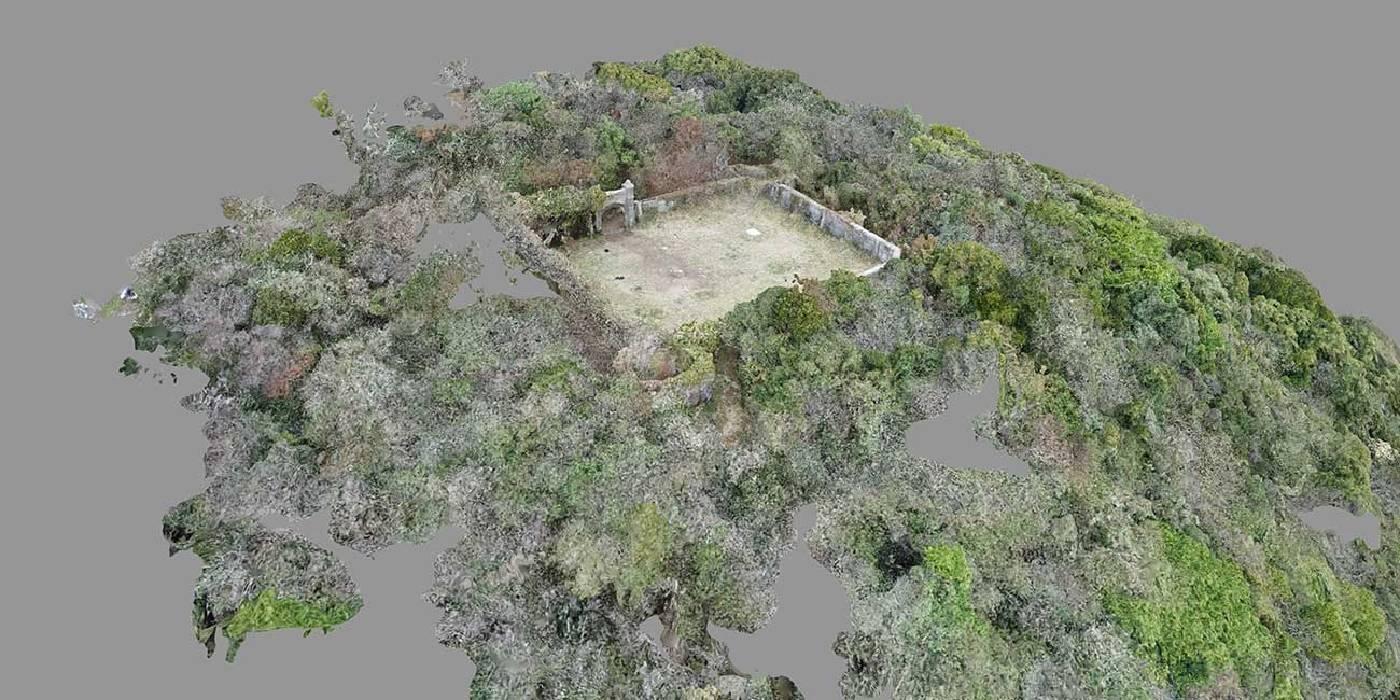 展覽主視覺,吳其育作品《封閉世界的設定集》影像截圖。圖/立方計劃空間提供