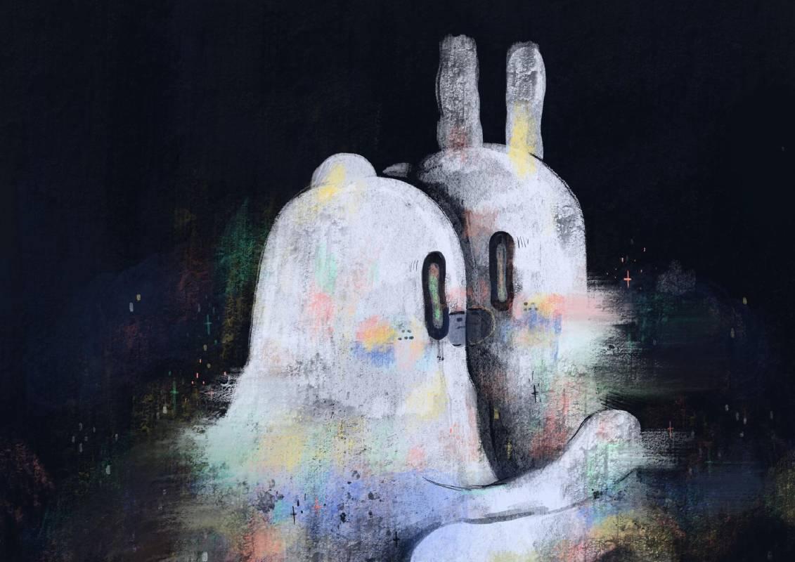 作品名稱:相愛與相害  創作媒材:數位藝術  無人知曉的,相愛與相害好像是一件日常的事 這世界的人事物就像拋棄式的物品,給他一個代號就可以輕易的置換 ─黃祈霖