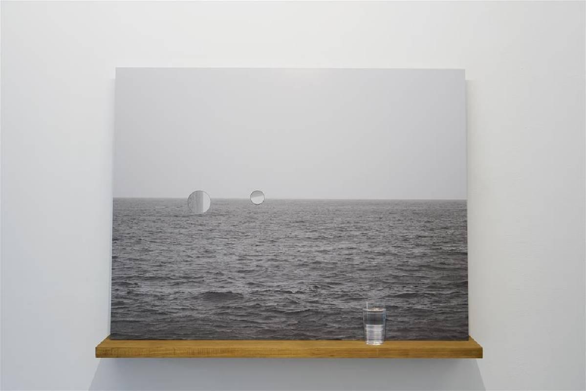 王雅慧作品《海》。圖/臺東美術館提供