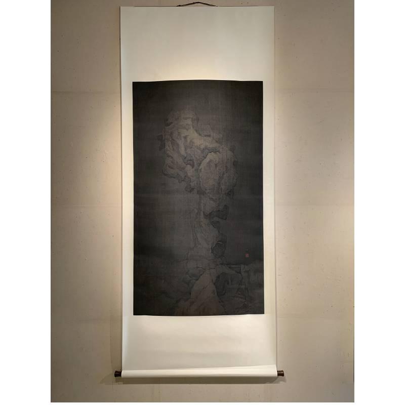 【玉骨】|152x85cm|絹本設色|2021|楊新收