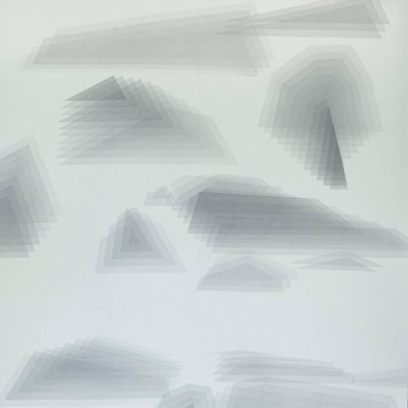 【碎形 00.00】|58x58cm|水墨絹本|2021|楊子逸