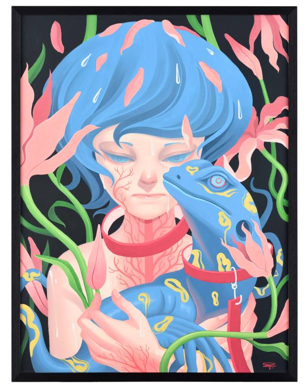 Bobby Leash作品〈Stigma〉。圖/VINS Gallery提供