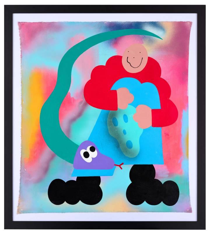 Yungbachelor 作品〈Big Snake〉。 圖/VINS Gallery提供