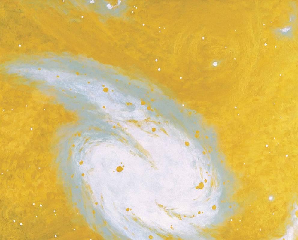 大宇宙 Universee, oil on canvas, 130x162cm (100F), 2005