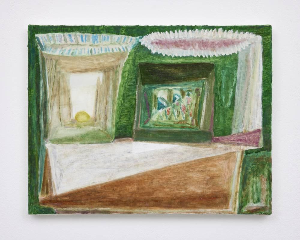 杉戸洋 Sugito Hiroshi, untitled, 2021, 畫布油彩 oil on canvas, 32.2 x 41.4 cm © Hiroshi Sugito, Courtesy of Tomio Koyama Gallery