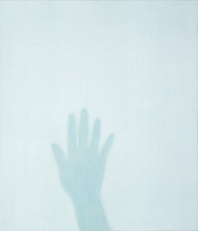 高松次郎 Takamatsu Jiro, Shadow (No.1462), 1997, 畫布壓克力 acrylic on canvas, 53 x 45.5 cm © The Estate of Jiro Takamatsu, Courtesy of Yumiko Chiba Associates, Tokyo