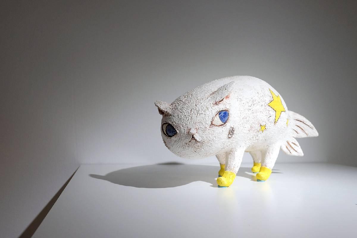 陶塑/Fishcat