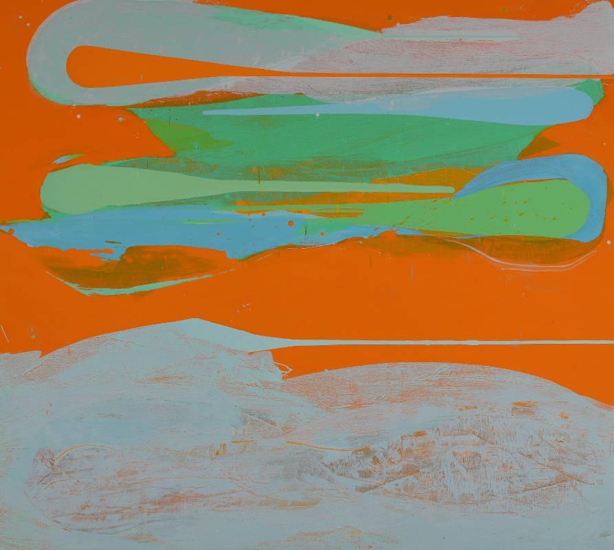 時間的肌理 -1, 2019-2020, 油彩.亞麻布, 170 x 190 cm。圖/耿畫廊提供