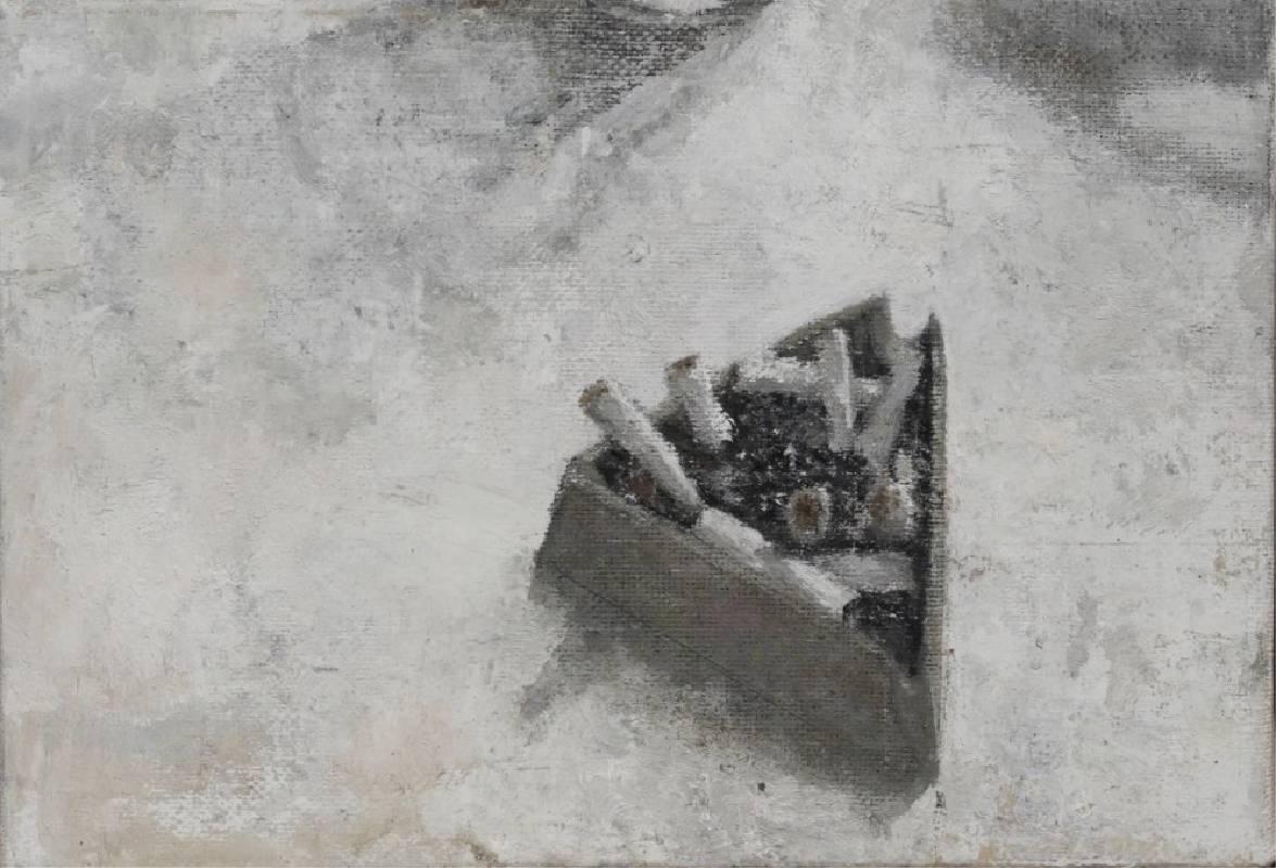 畫家都愛抽煙嗎== .25.5*17.5cm .2020