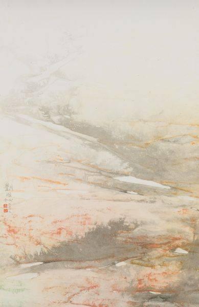 劉國松-藏韻隨自在