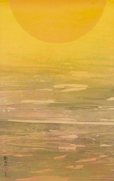 劉國松-太陽圖之四十一