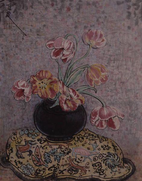 潘玉良-鬱金香