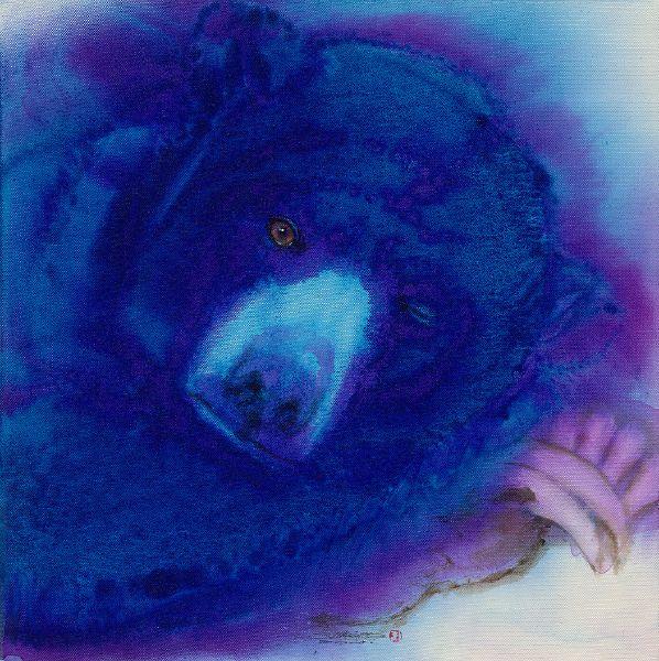 林順雄-萌獸系列-台灣黑熊