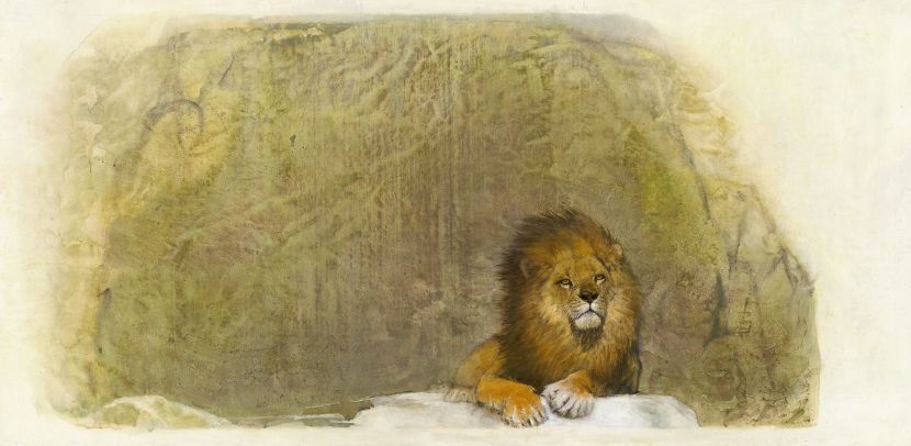 林順雄-非洲系列-獅王