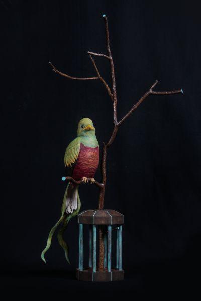 陳廷曜-籠中·自由鳥