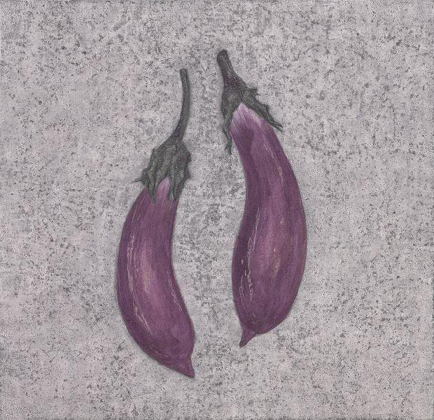 鍾舜文-日常採集-吊菜仔 Daily collection - eggplant