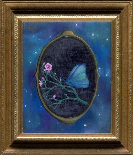 許旆誠-鏡中蝶 Butterfly in the mirror