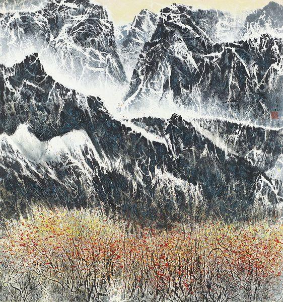 劉國松-天山之秋