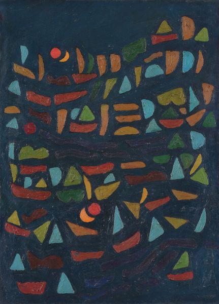法賈希迪-雙太陽的構圖