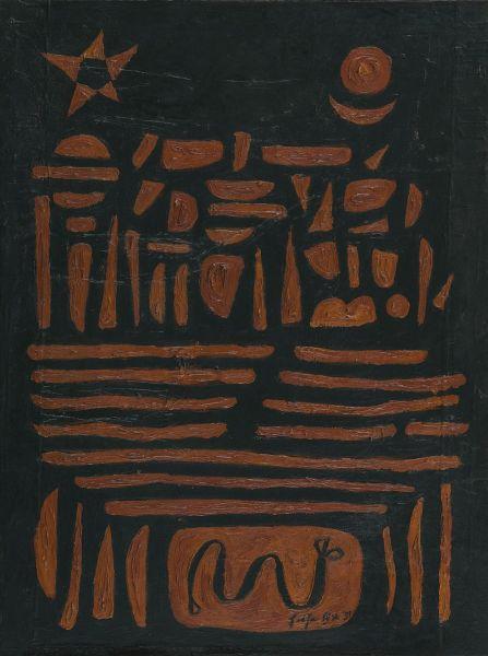 法賈希迪-棕色曼陀羅
