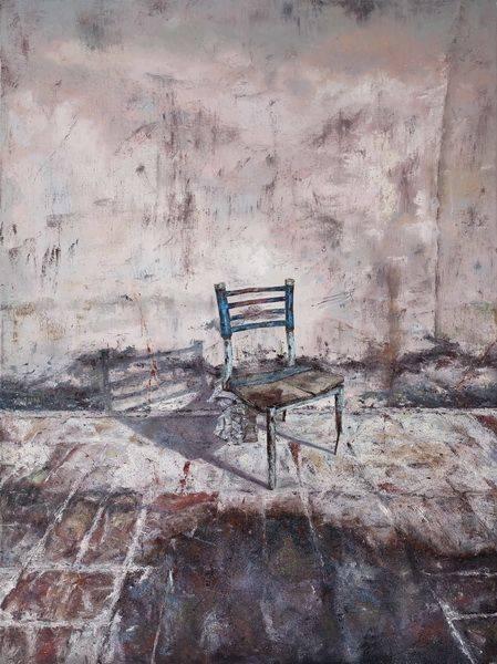 沈昊-椅子下的自畫像
