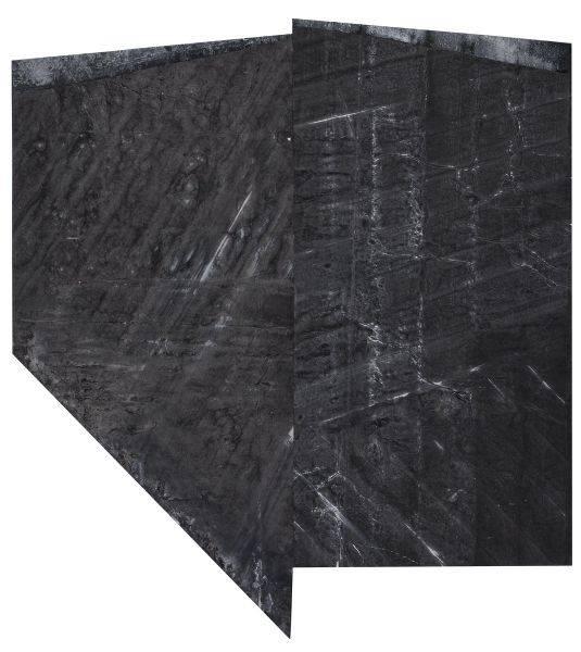 鄭重賓-折疊過的斜形 Slanted and Folded Form