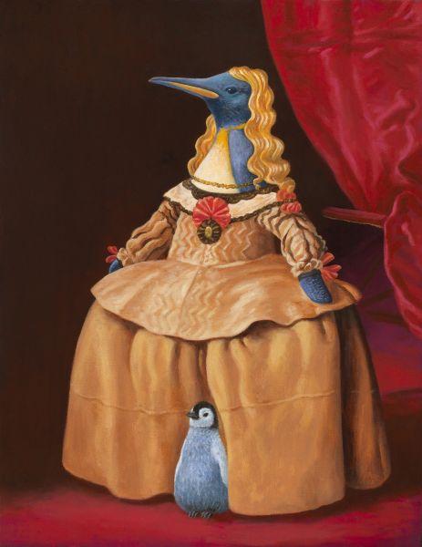 詹喻帆-融古入今系列-企鵝公主