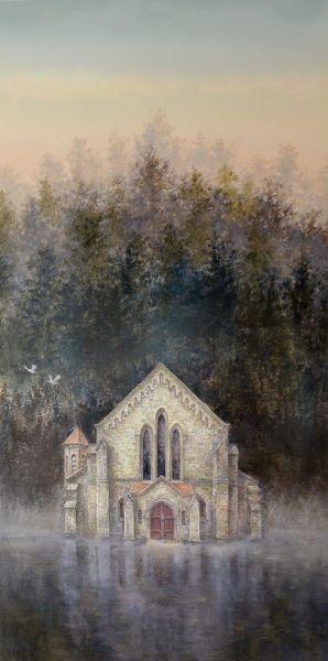 盧儷心-湖中教堂