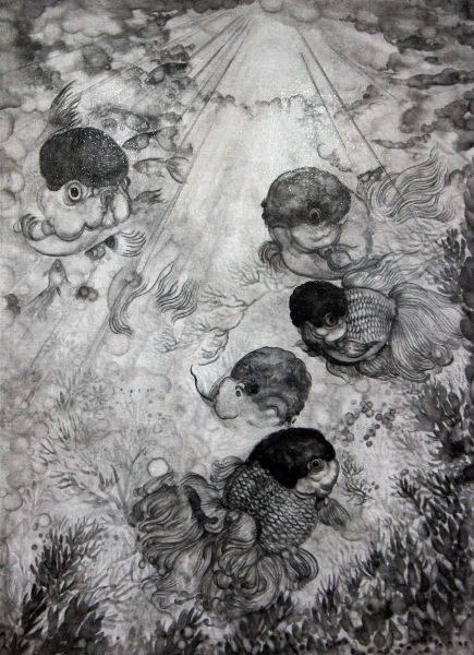 王毓淞-雲水仰光2