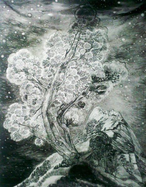 王毓淞-大樹與山