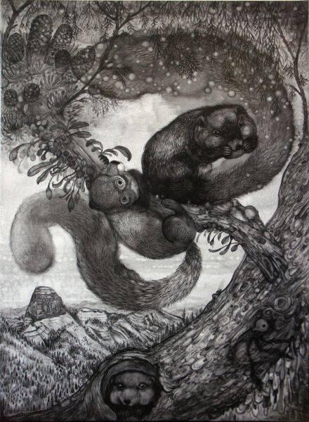 王毓淞-大霸尖山的松鼠們01