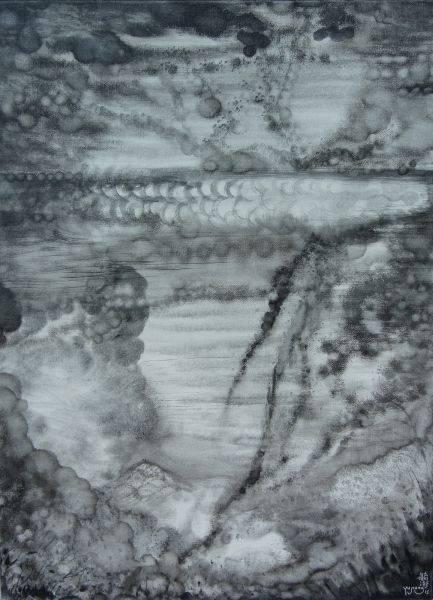 王毓淞-黑雲白雲玉山雪