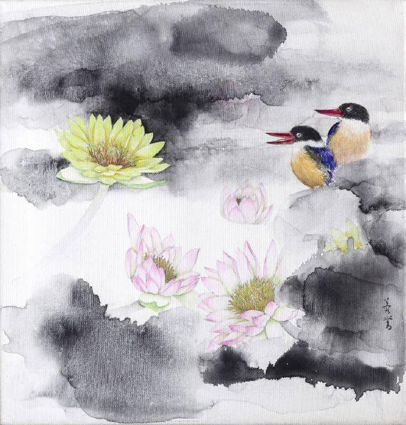 劉蓉鶯-晨間(黃睡蓮)
