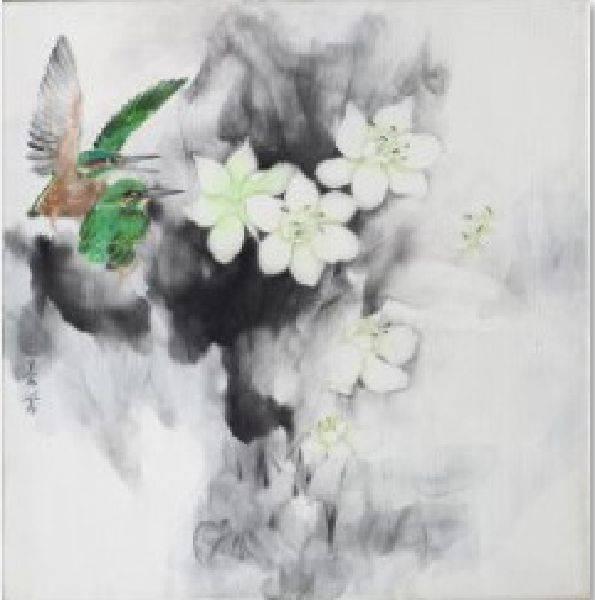 劉蓉鶯-朝暉(洋水仙、翠鳥)