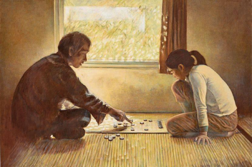 許莉青-父女對弈