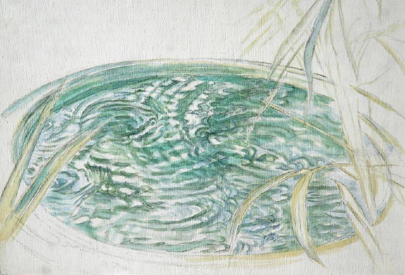 許莉青-小樹林系列:小塘水舞