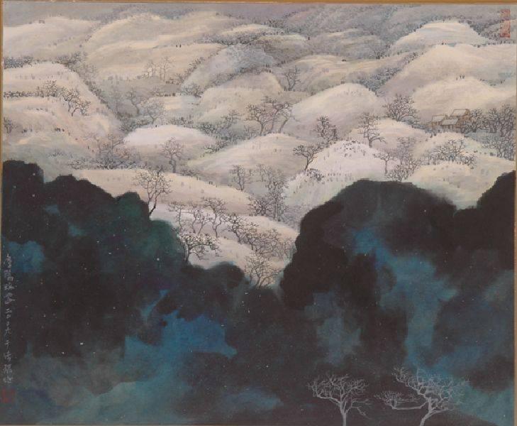 于傳騏-冬陽瑞雪