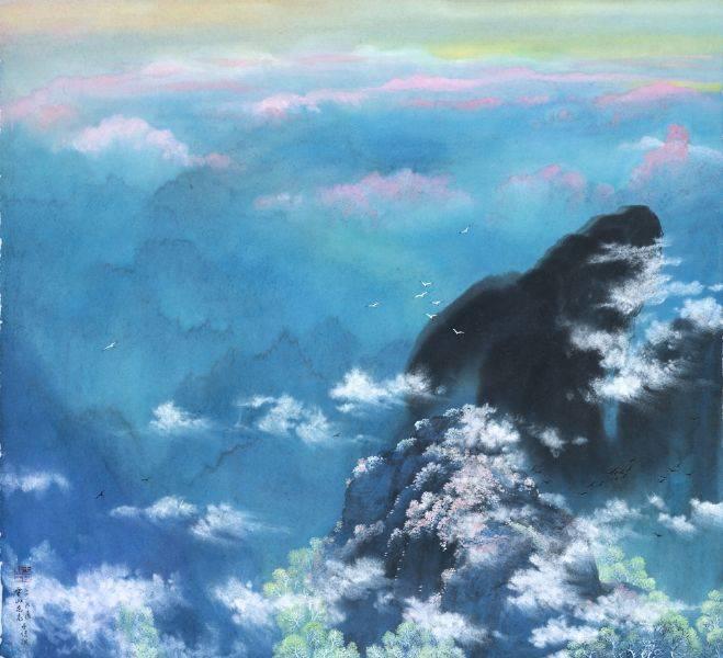 于傳騏-雲山花見