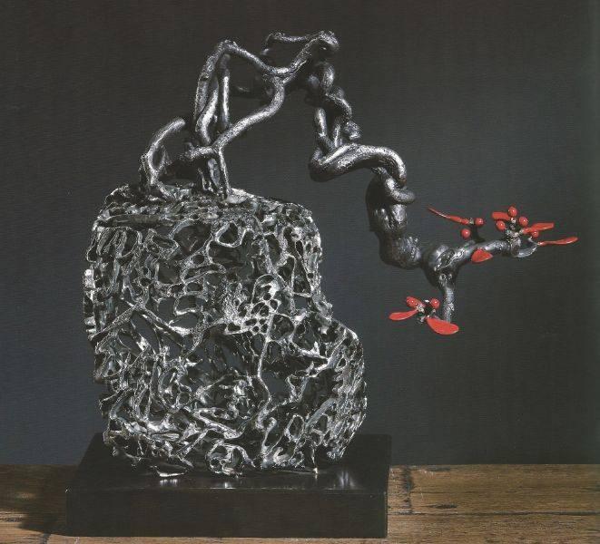 許文融-陶然自得  46x28x40cm